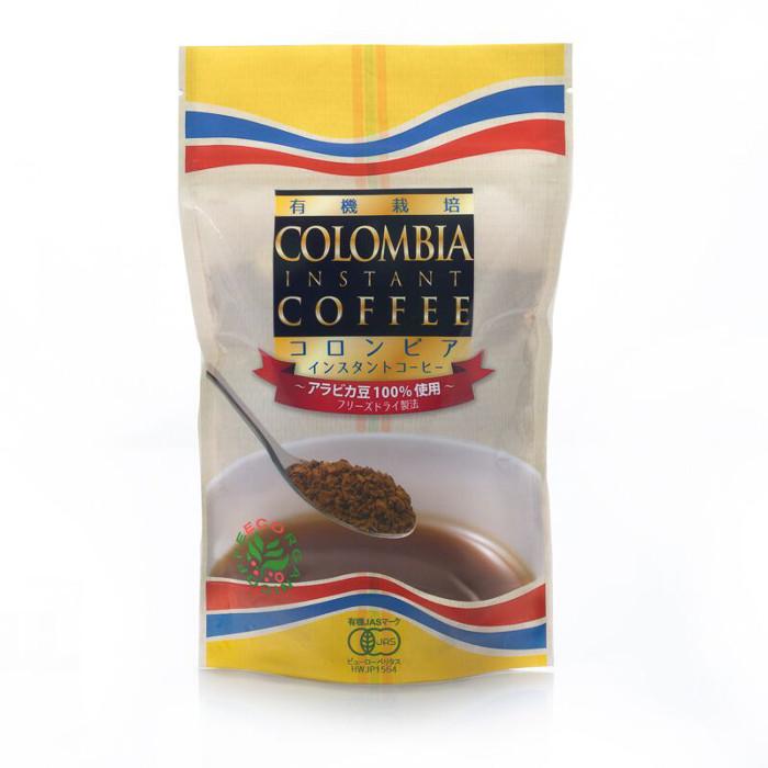 有機栽培コロンビアインスタントコーヒー100g
